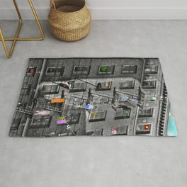 Building Lives, Sharing Spaces Rug