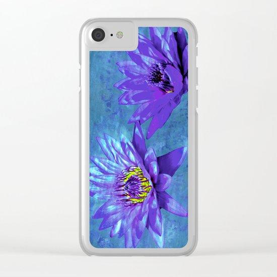 No Mud, No Lotus Clear iPhone Case