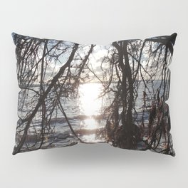 Diamonds on the water Pillow Sham