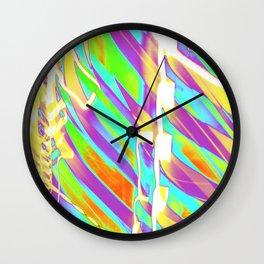Light Dance Candy Ribs edit1 Wall Clock