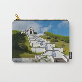Chapel in Azores islands Carry-All Pouch
