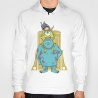 monster inc Hoodies featuring Monster Inc. by Fathi