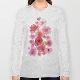Caramel flowers 2 Long Sleeve T-shirt