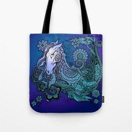 Pegasus color Tote Bag