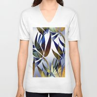 bamboo V-neck T-shirts featuring Bamboo by Artisimo