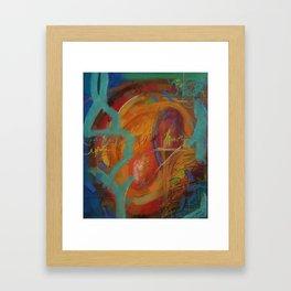 Snug and Loved Framed Art Print