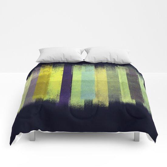 Grunge Stripes Comforters