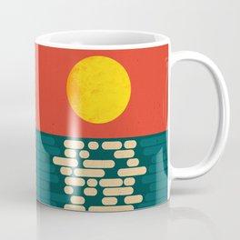 Sun Over The Sea - Afternoon Coffee Mug
