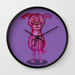 Courage the Cowardly Dog Wall Clock