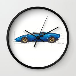 Countach Wall Clock