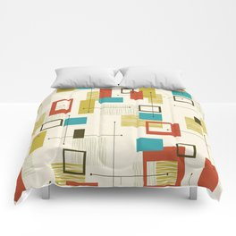 Mid Century Modern, Sputnik Pattern Comforters