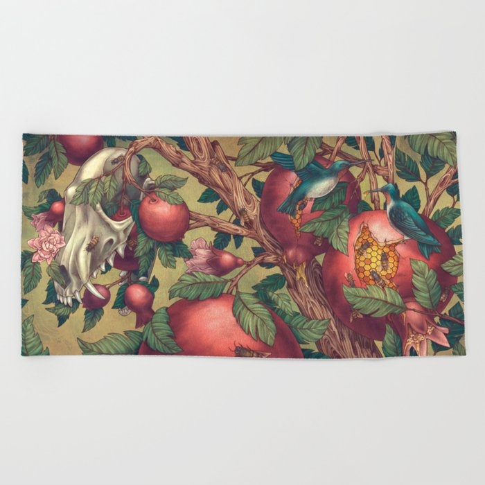 Ragged Wood Beach Towel