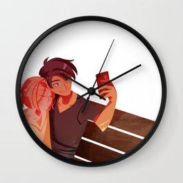 YOI: Sleepy Selfie Wall Clock