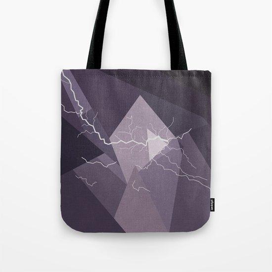 ABSTRACT STORM Tote Bag