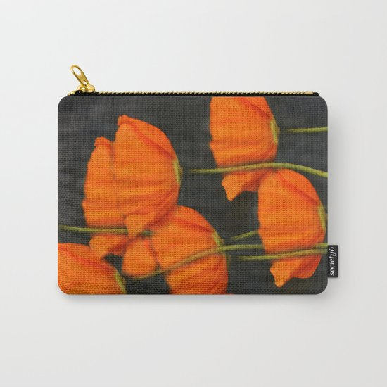 Poppies(orange). Carry-All Pouch