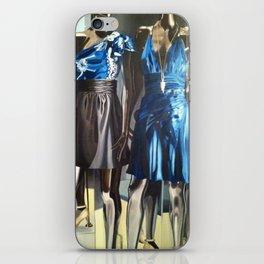 Untitled Blue iPhone Skin