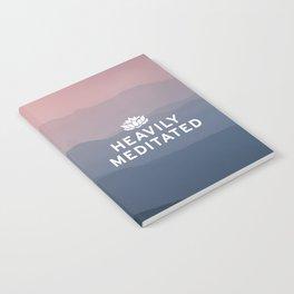 Heavily Meditated Notebook