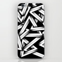 Impossible Penrose Triangles iPhone Skin