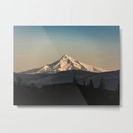 PNW Mount Hood Adventure Metal Print