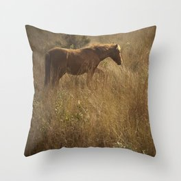 Corolla Throw Pillow