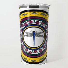 Circle of Life 3 / Dragonfly Travel Mug