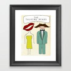 The Talking Heads Framed Art Print