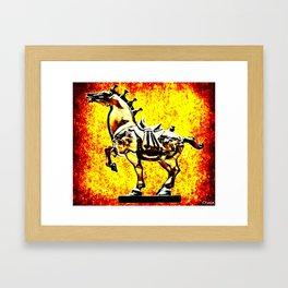 Grindhouse Warhorse  Framed Art Print