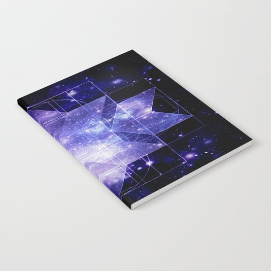 galaxy sacred Geometry Notebook