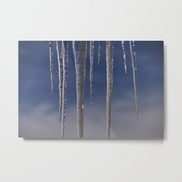 Ice in the air Metal Print