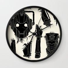 Decommissioned: Cyberman Wall Clock