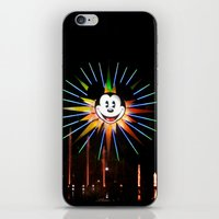 mickey iPhone & iPod Skins featuring Mickey  by AuFish92024