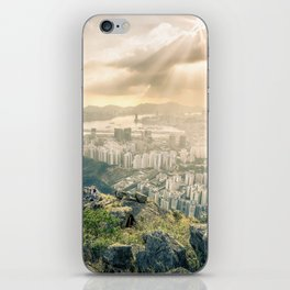Hey look! It's our city! iPhone Skin