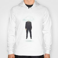 risa rodil Hoodies featuring Head in the Cloud by Vin Zzep
