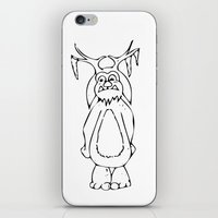 lil bub iPhone & iPod Skins featuring Frozen Bub by GoAti