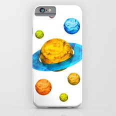Colorful watercolor hand drawn planet. Slim Case iPhone 6s