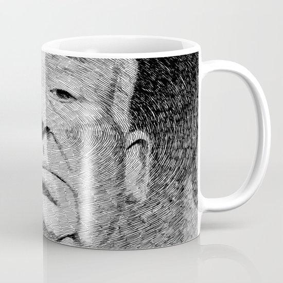 Fingerprint - Hitchcock Mug