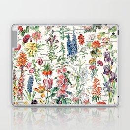 Adolphe Millot - Fleurs pour tous - French vintage poster Laptop & iPad Skin