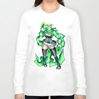 sublime Long Sleeve T-shirts featuring Royal Ranger - Sublime Emerald by 121gigawatts