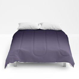 Ombre Ultra Violet Dark Purple Comforters