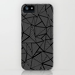 Abstraction Linear iPhone Case