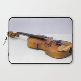 violin on a gray background Laptop Sleeve