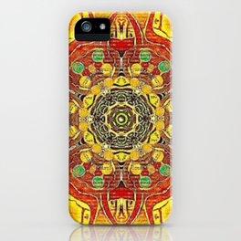 Sun Mandala iPhone Case