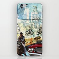 technology iPhone & iPod Skins featuring  Transportation  technology by Design4u Studio
