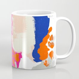 Mica - bright happy abstract painting trendy color palette modern home decor nursery art Coffee Mug