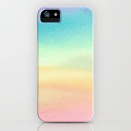Pride Watercolor Wash iPhone Case