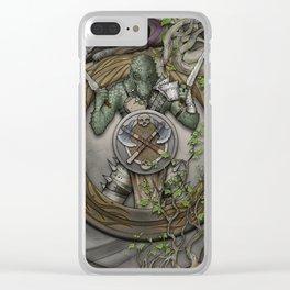 Yrchyn, the tyrant Clear iPhone Case