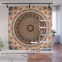 Mandala Wheel of Life Wall Mural