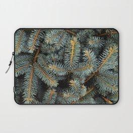 Evergreen Tree Pattern (Color) Laptop Sleeve
