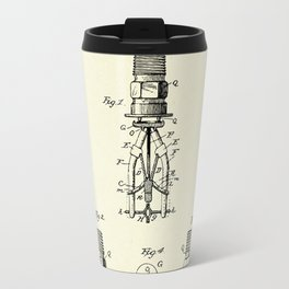 Automatic Fire sprinkler-1888 Travel Mug