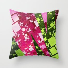 Square Watermelon Throw Pillow